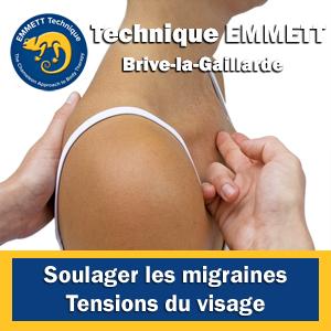 Technique EMMETT migraines tensions au visages