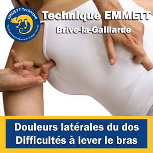 Technique EMMETT douleurs latérales du dos